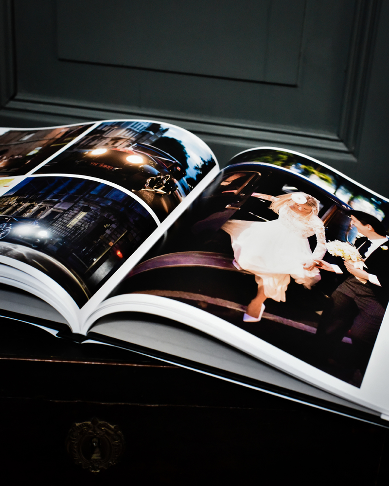 Wild Weddings. Your choice of 160 wedding photographs in a printed book