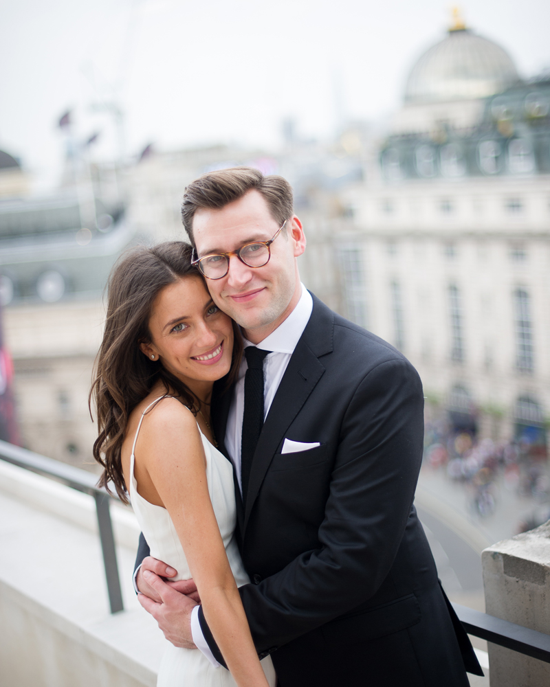 The Dome Penthouse Suite, Hotel Café Royal, Regent St, London wedding photographer Wild Weddings
