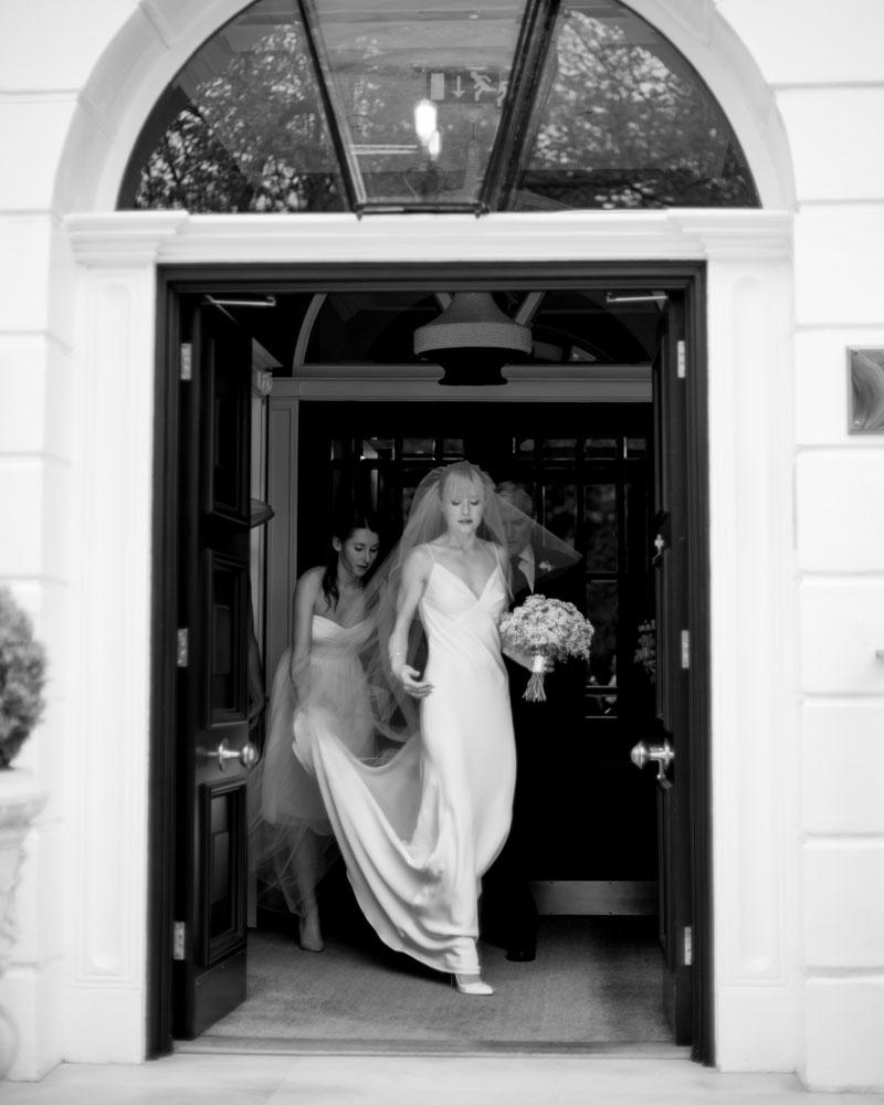 Dorset Square Hotel London wedding photography by Wild Weddings
