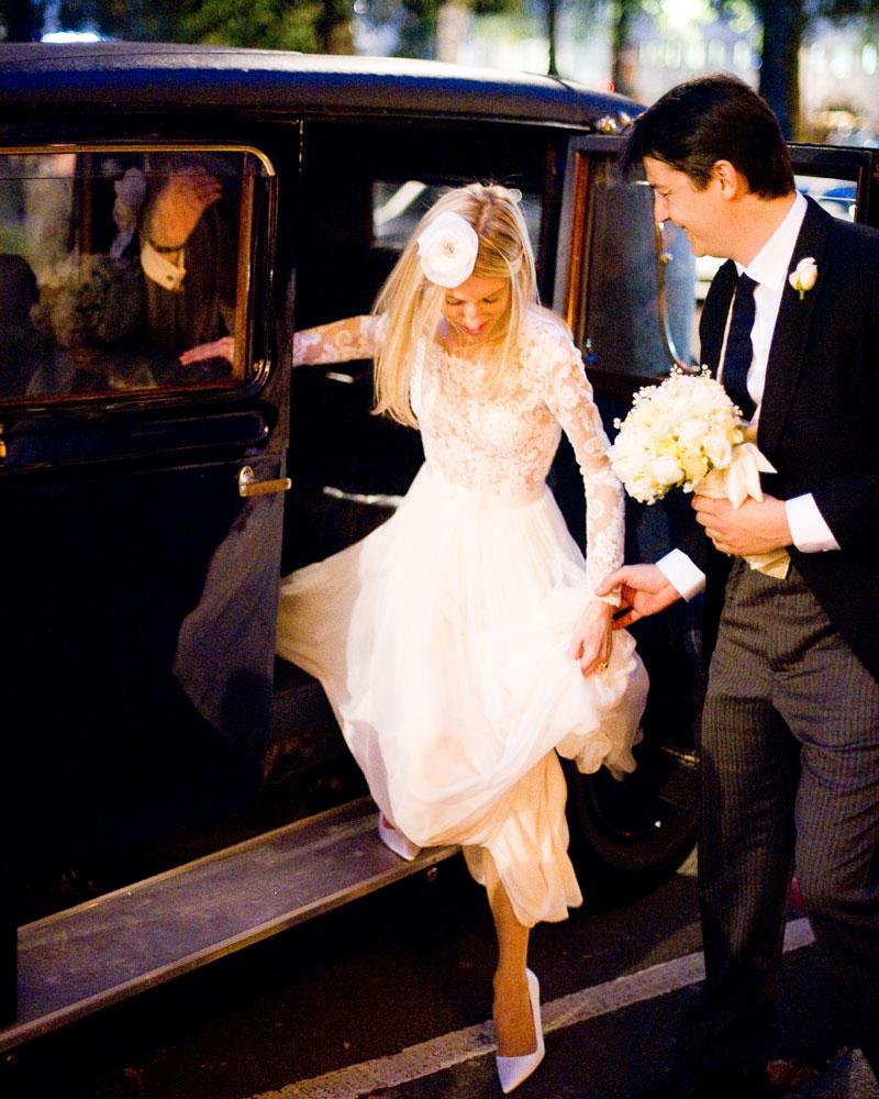 Berkeley Square London wedding photo by Wild Weddings