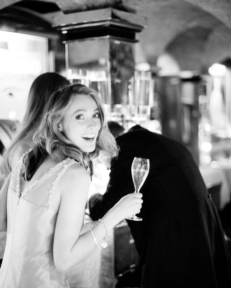 Annabel's nightclub Berkeley Square London wedding photo by Wild Weddings