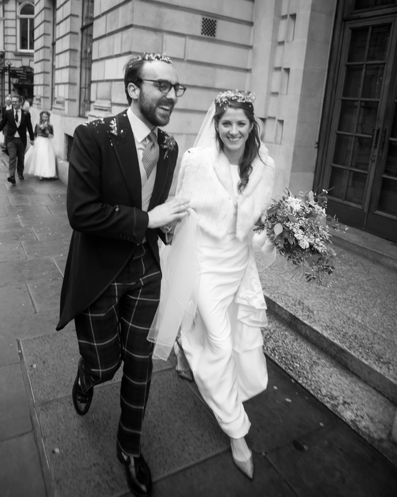 St Bride's Fleet Street London wedding photography by Wild Weddings