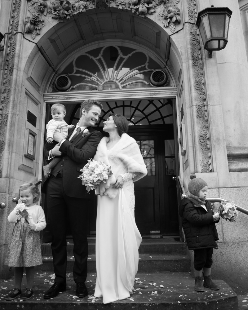 Kensington and Chelsea Register Office photography by Wild Weddings