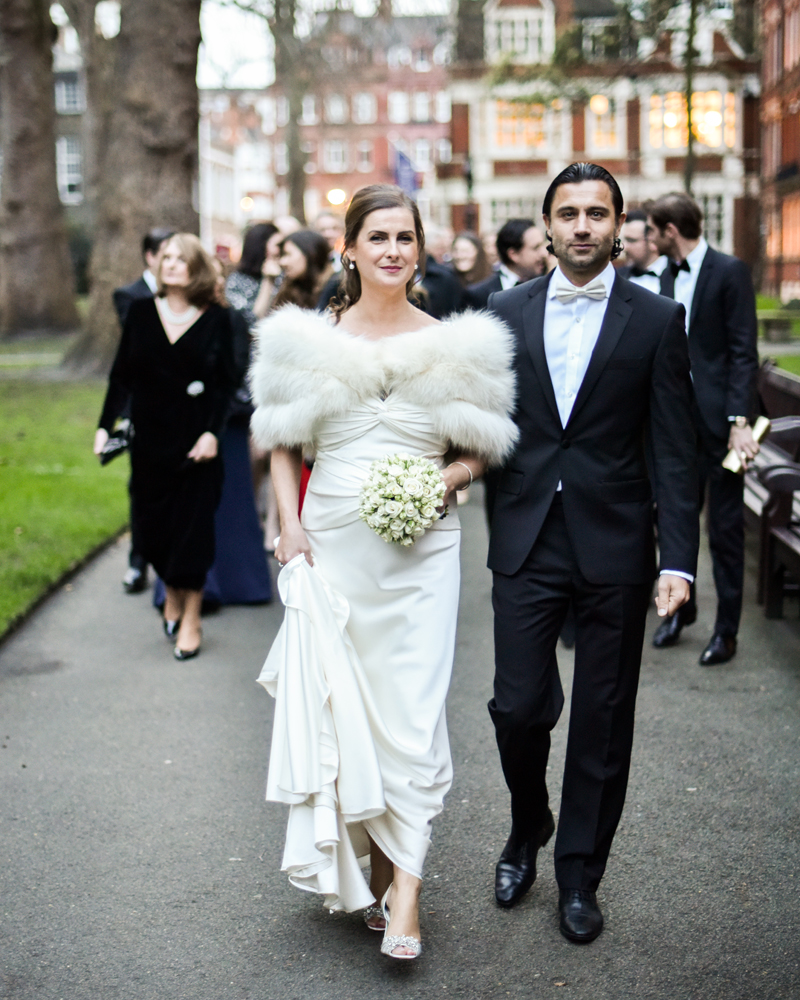 Mount Street Gardens London wedding photographer Wild Weddings