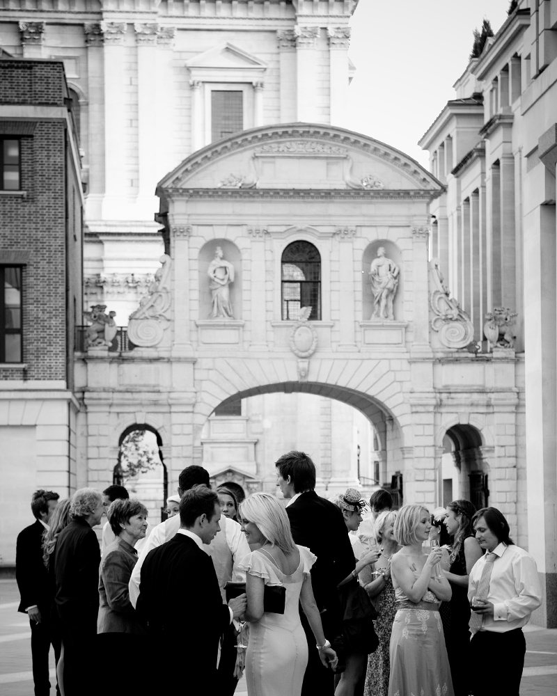Paternoster Square. St Paul's Cathedral wedding photographer Wild Weddings