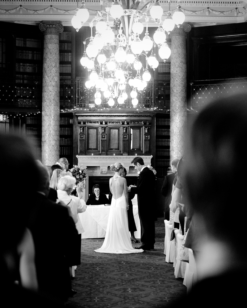 Ceremony. One Whitehall Place. wedding photographer Wild Weddings