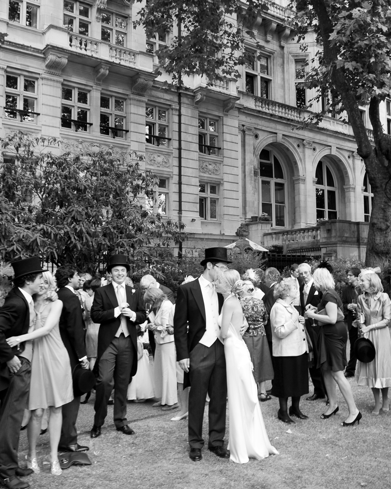Drinks reception. One Whitehall Place. wedding photographer Wild Weddings