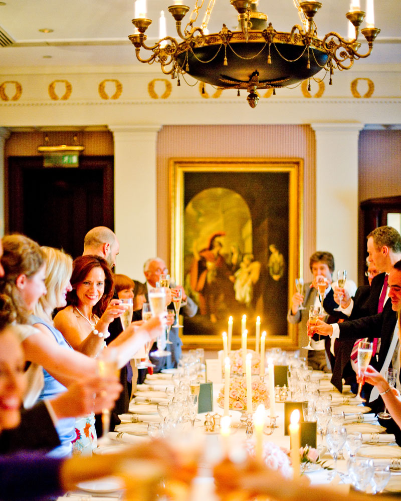 Private dinner. The Lanesborough wedding photographer - Wild Weddings