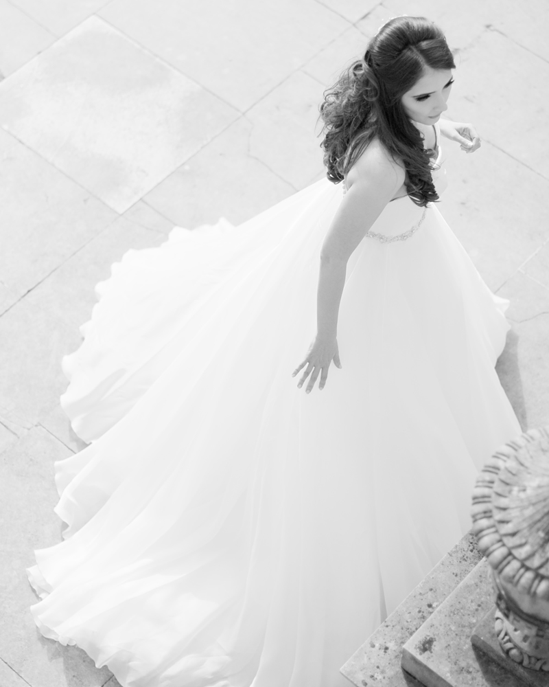 Bride. Chiswick House wedding photographer Wild Weddings