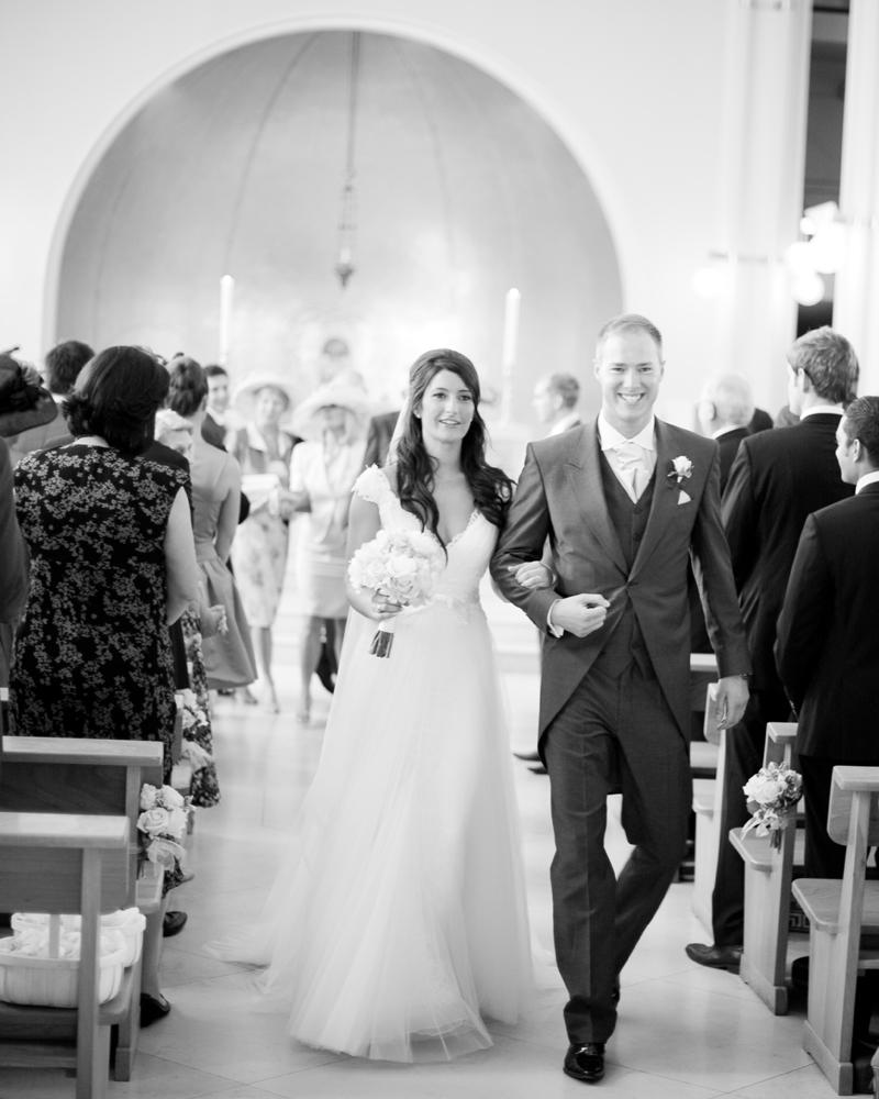 St Peter's Church Eaton Square, London W1 Wedding photographer Wild Weddings