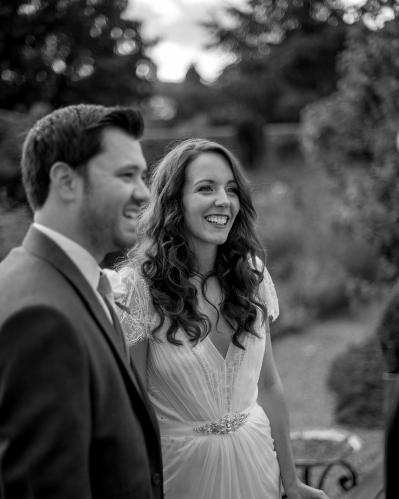 Bride and Groom Braxted Park wedding photographer Wild Weddings