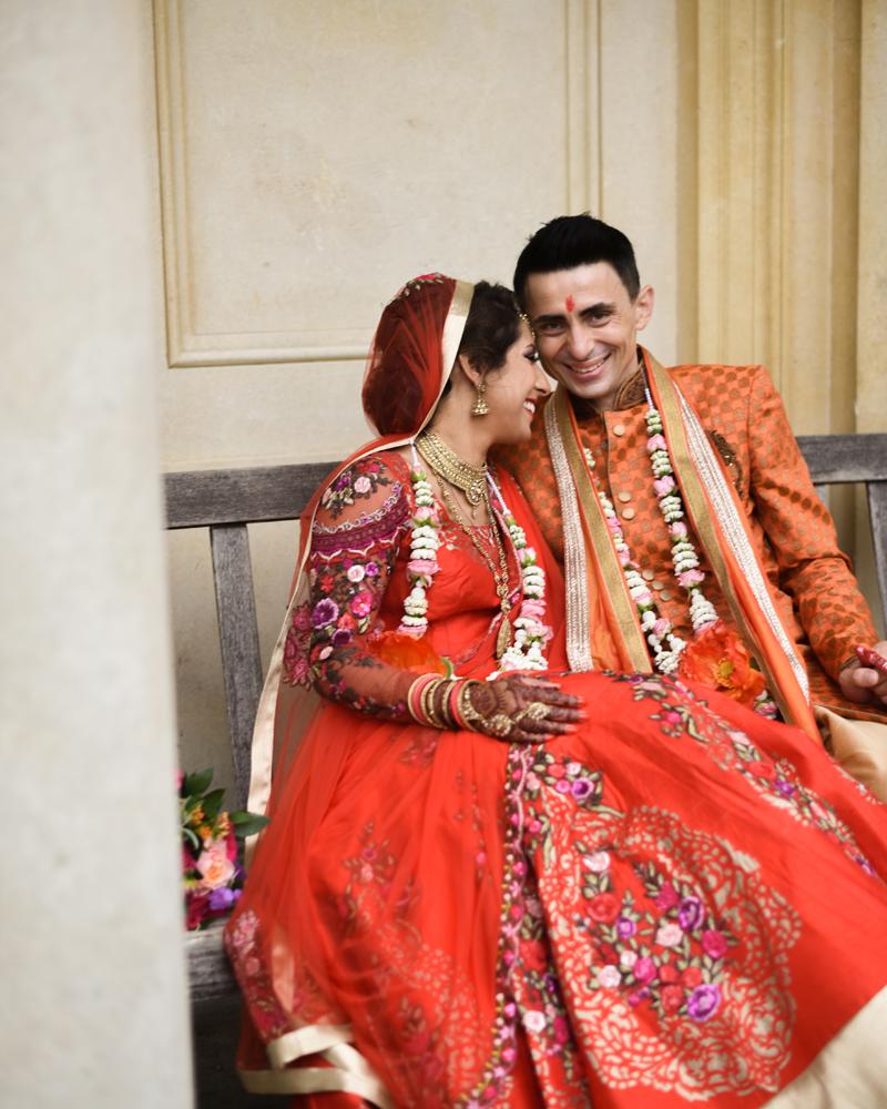 Kew Gardens wedding photographer Wild Weddings Indian wedding