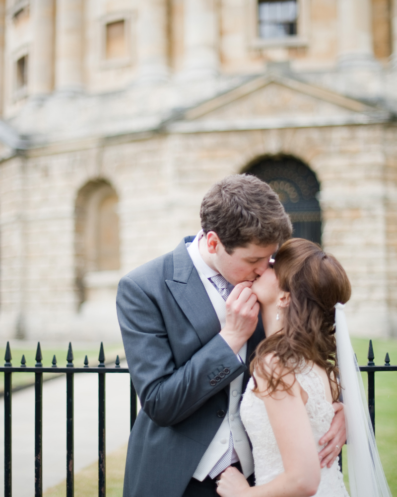 The Bodleian Library Oxford wedding photos by Wild Weddings