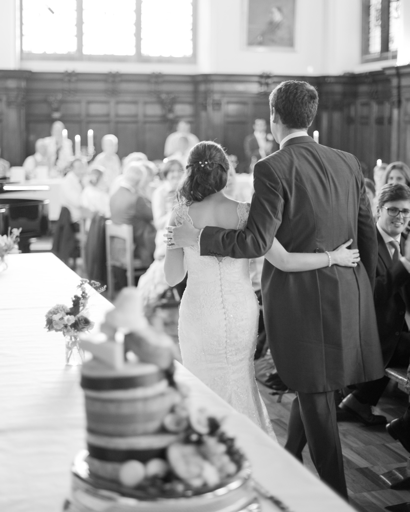 Dining Hall University College Oxford wedding photos by Wild Weddings